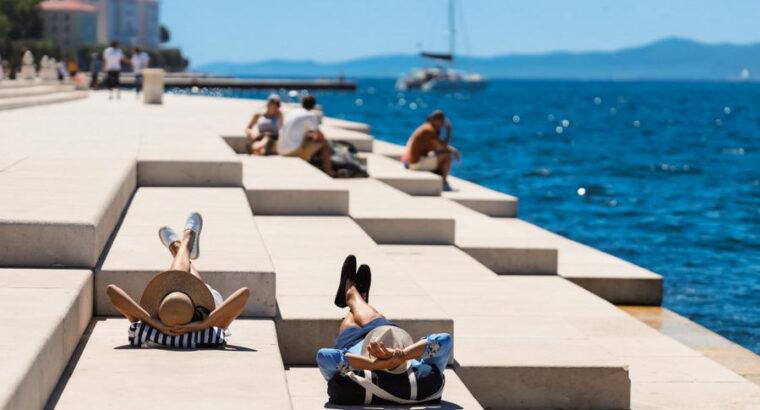 Morske orgulje, Zadar