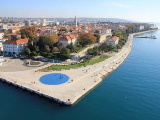 Pozdrav suncu, Zadar